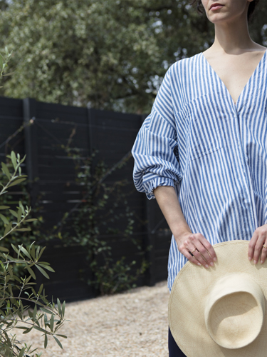 Sailor Blues: Varna Striped Blouse