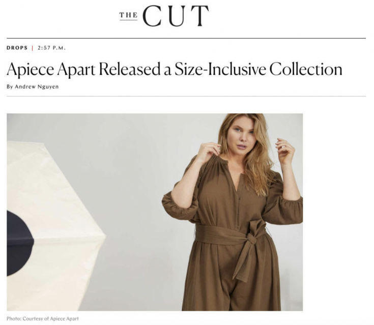 Apiece Apart Released a Size-Inclusive Collection